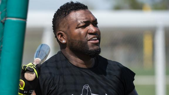 Video - Ortiz Working Hard, Preparing For Season