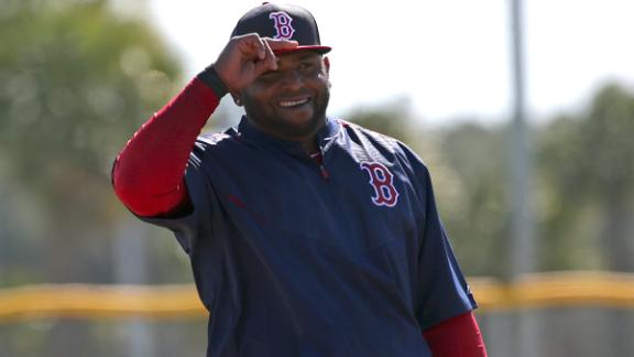 Video - Sandoval Excited To Be With Boston