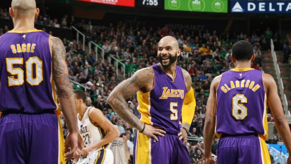 Video - Lakers Come Back, Beat Jazz