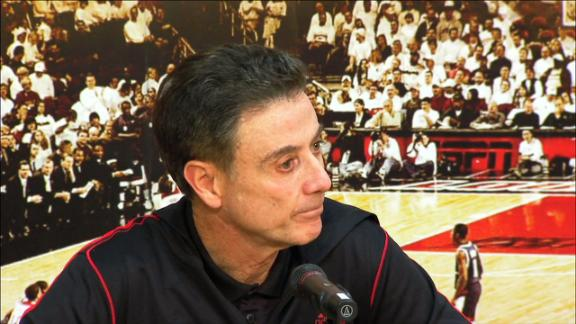 Pitino: We're All Shocked, Saddened