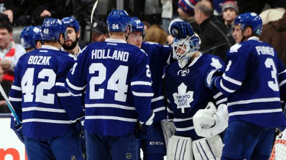Video - Maple Leafs Hold Off Flyers