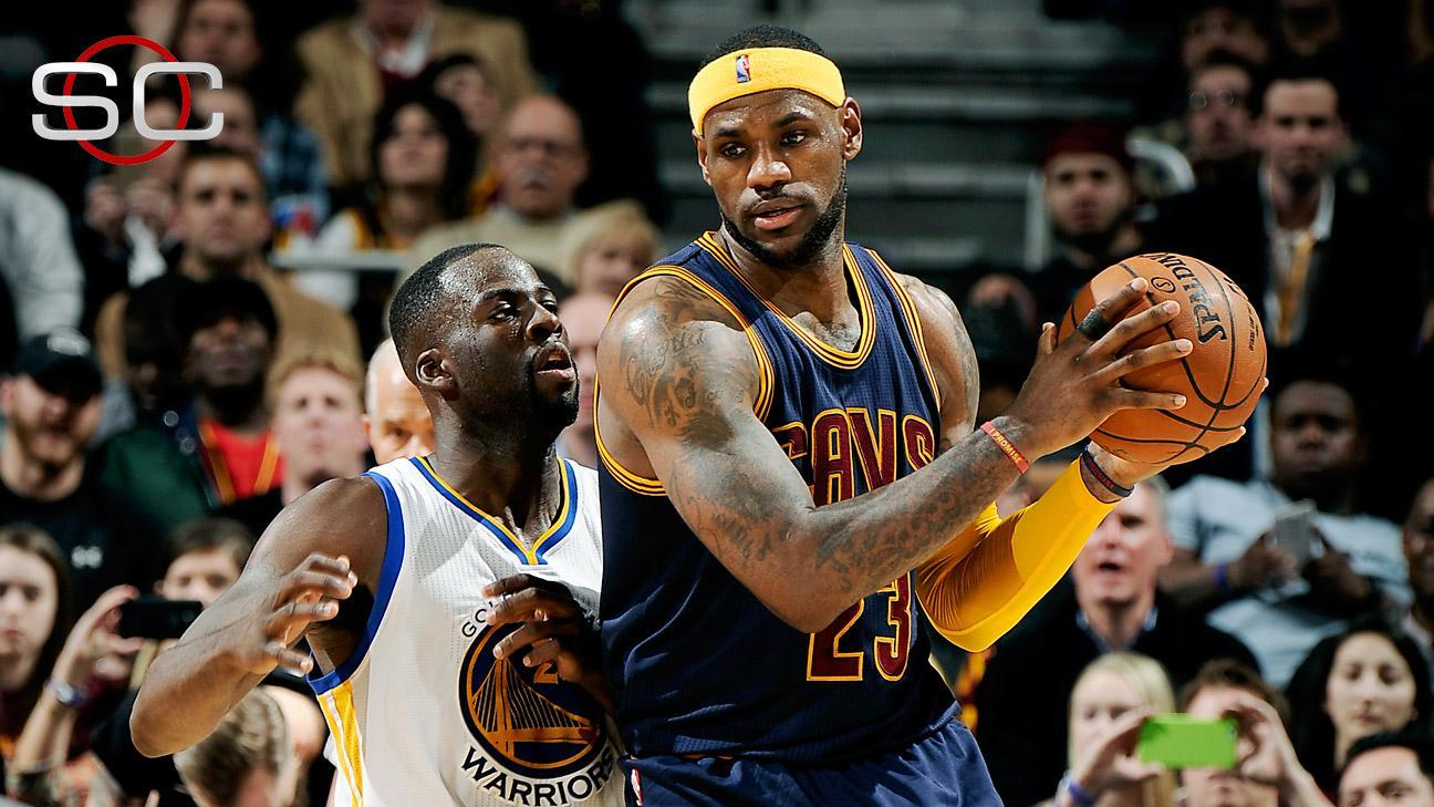LeBron Scores 42 In Win Over Warriors