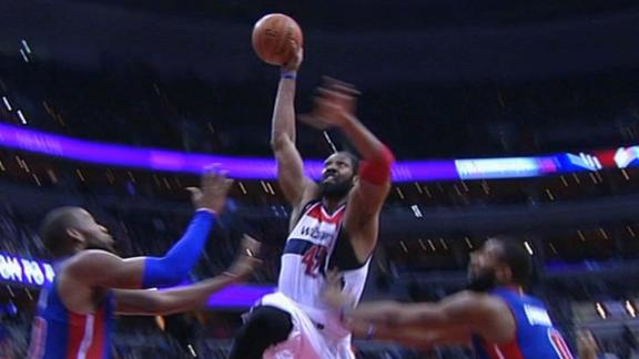 Video - Nene's Thunderous Dunk