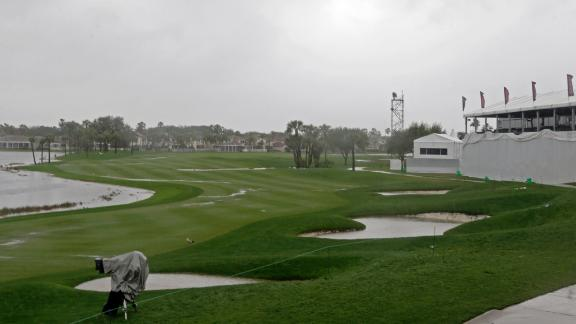 Play Suspended At Honda Classic