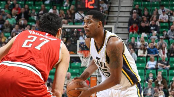 Jazz Topple Visiting Bucks