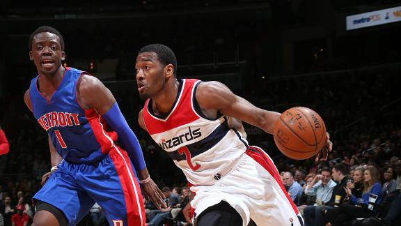 Video - Wizards Top Pistons To Snap Skid
