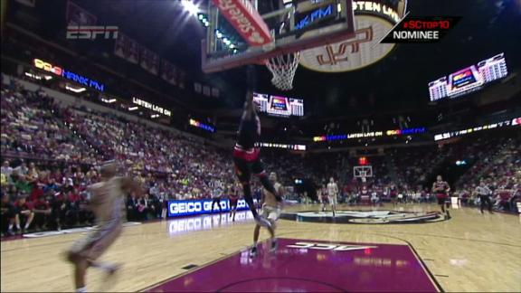 2H LOU M. Harrell made Dunk. Assisted by T. Rozier.