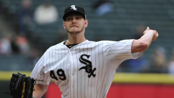 Video - Chris Sale Sidelined With Fractured Foot