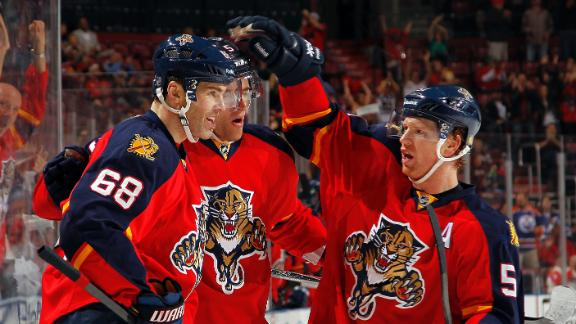 Video - Jagr Achieves Milestone In Panthers' Victory