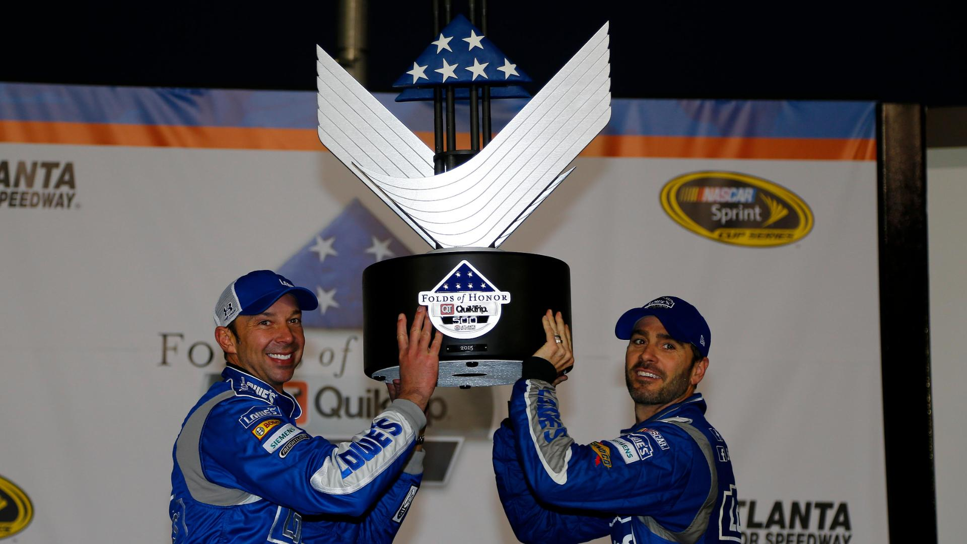 Jimmie Johnson Wins At Atlanta