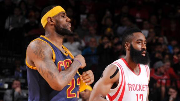 Harden Suspended One Game For Kicking LeBron