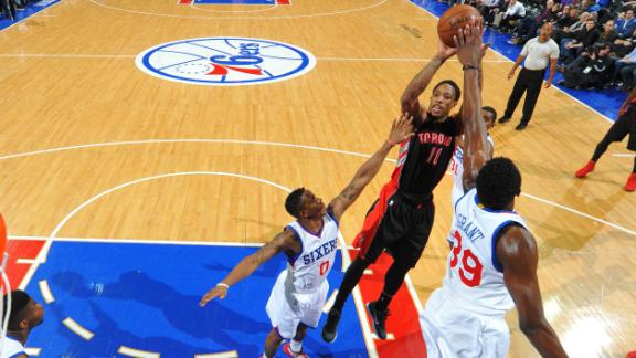 Video - Raptors Run Past 76ers