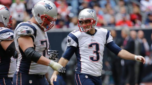 Video - Patriots Use Tag To Keep Gostkowski