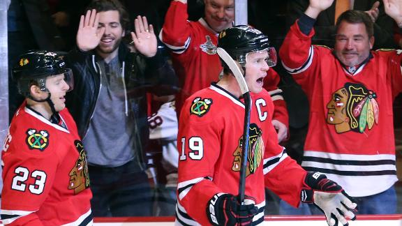 Video - Blackhawks Skate Past Hurricanes