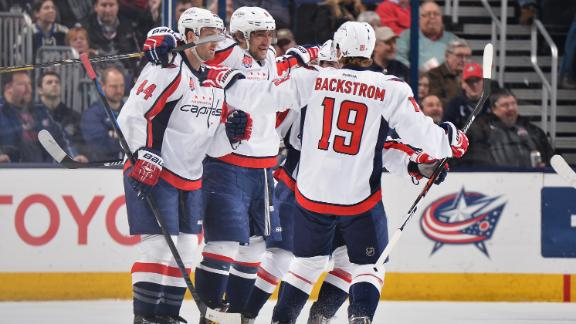 Video - Ovechkin, Capitals Top Jackets