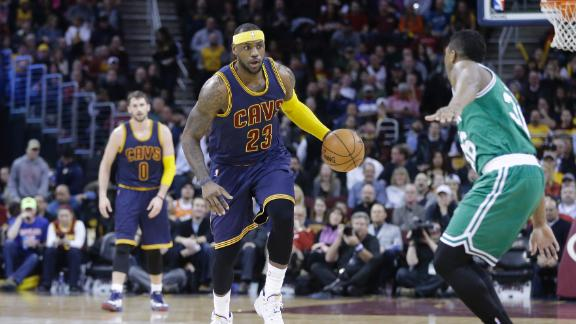 Video - LeBron, Cavs Bounce Back Big