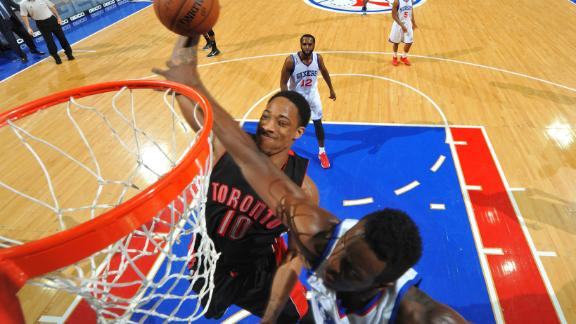 Video - DeRozan's Big Night Capped Off With Powerful Slam