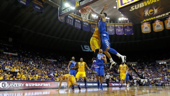 #HornSoundsOff Best dunks of the season