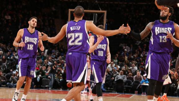 Video - Kings Crush Knicks