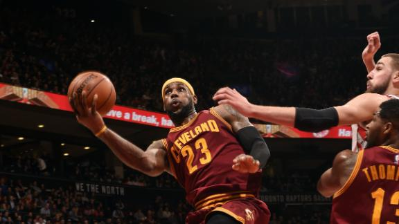 Video - LeBron's Big Fourth Propels Cavs
