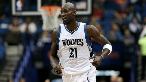 Video - Garnett: 'They Quit On Brian Shaw'