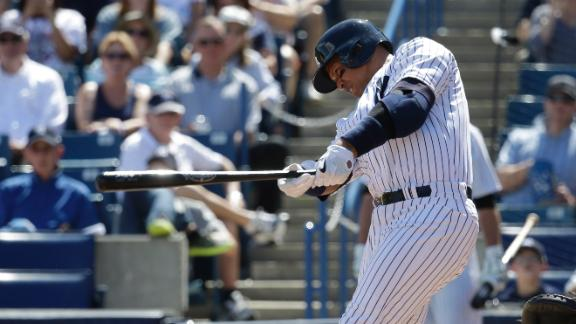 Video - A-Rod Singles In Yankees' Loss