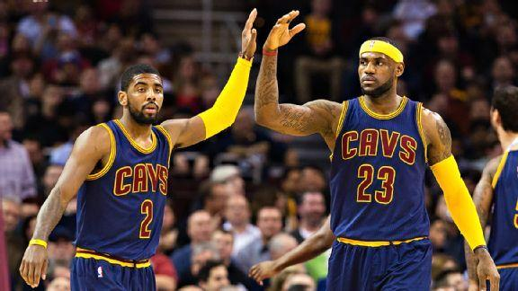 Vegas Favors Cavs To Win NBA Title