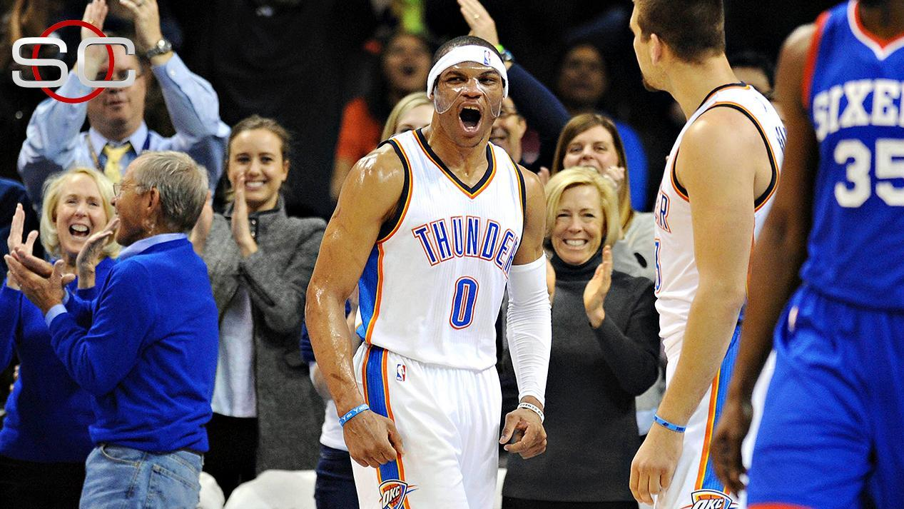 Westbrook Records Triple-Double In Thunder's OT Win