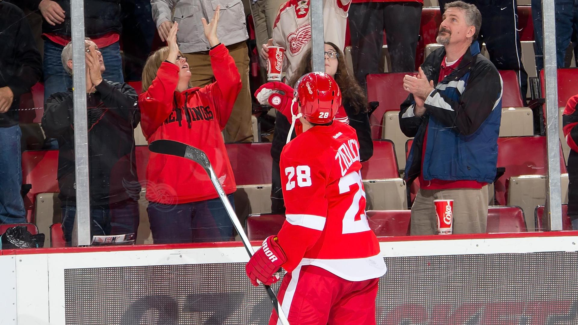 Video - Zidlicky's OT Goal Lifts Red Wings Past Rangers