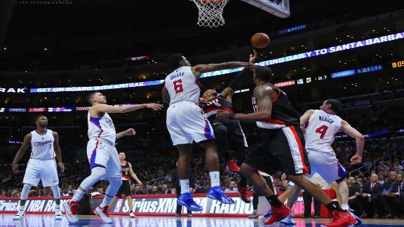 Blazers Come From Behind To Shock Clippers In OT