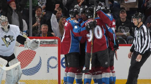 Video - Avs Stun Penguins