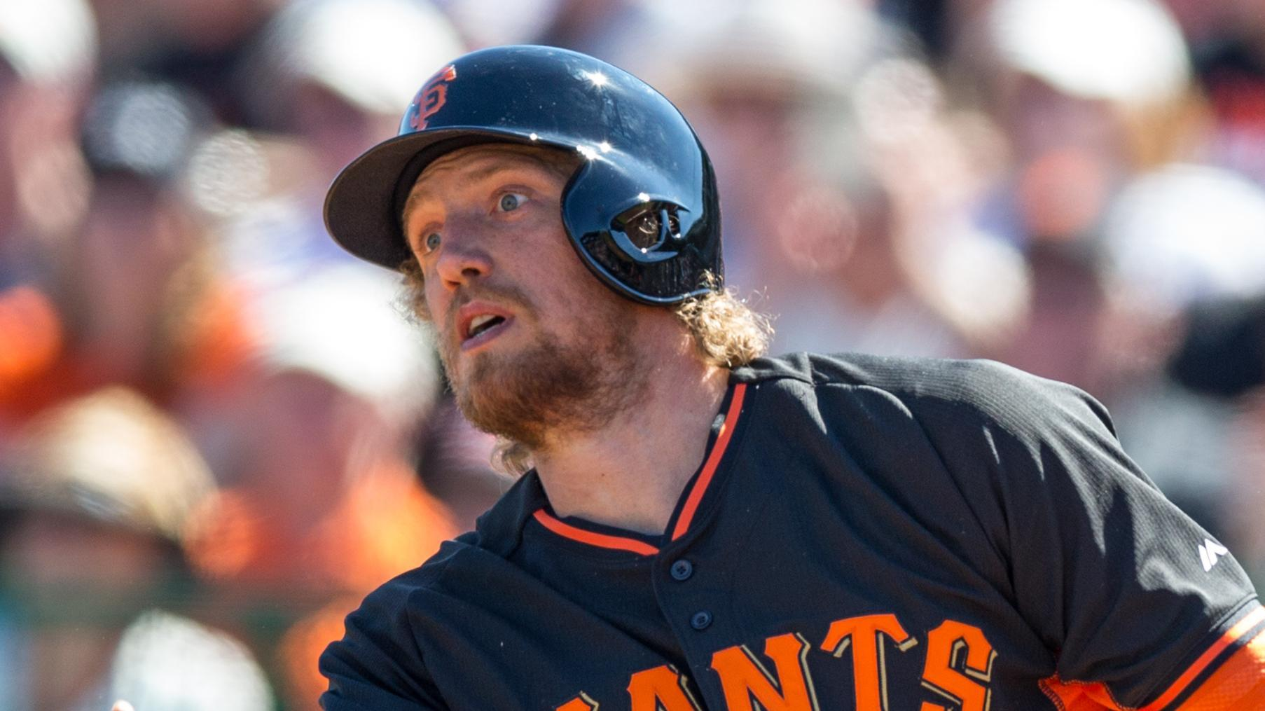Video - Hunter Pence Out Six To Eight Weeks