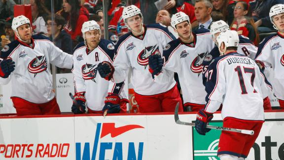 Video - Blue Jackets Beat Devils