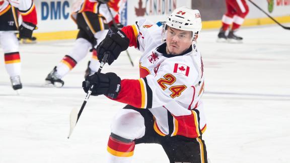 Video - Hudler Scores Twice In Flames' Win