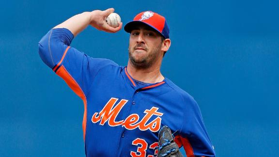 Video - Harvey Tosses 2 Perfect Innings In Mets' Win