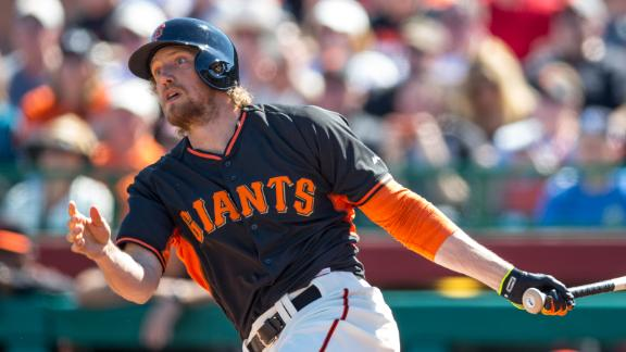 Video - No Surgery Needed For Hunter Pence