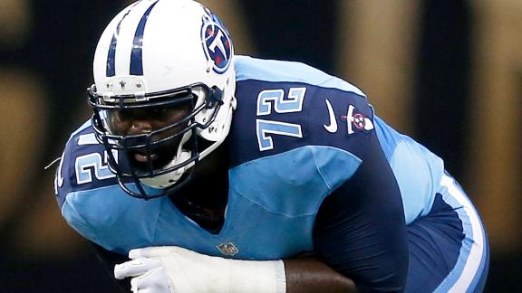 Oher Signs 2-Year Deal With Panthers