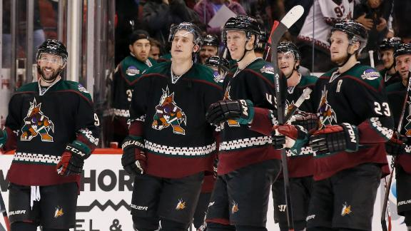 Video - Coyotes Prevail In Shootout Victory