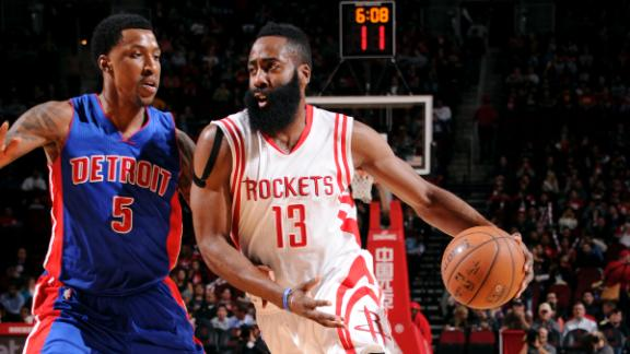 Video - Harden's Triple-Double Carries Rockets