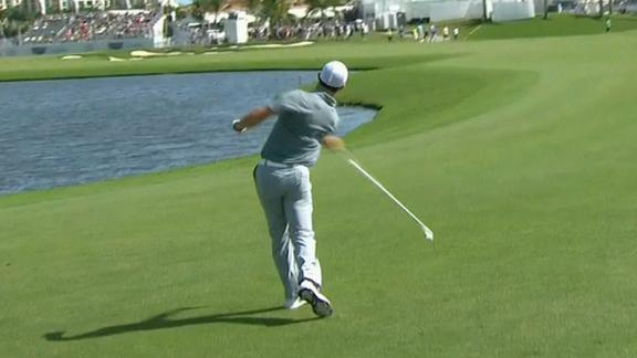 McIlroy Slings Club Into Water