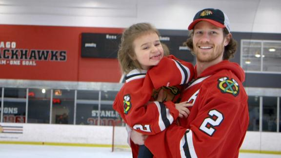 Video - Duncan Keith Grants Young Fan's Wish