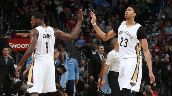 Video - Davis, Evans Lead Pelicans Past Grizzlies