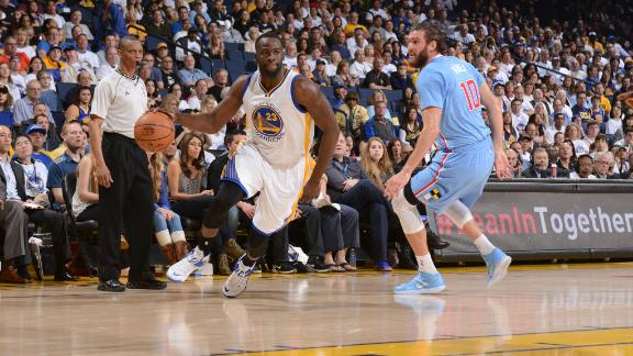 Video - Warriors Win Third Straight
