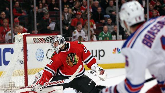 Video - Rangers Beat Blackhawks In OT