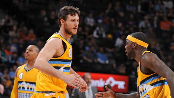 Video - Nuggets Roll Knicks