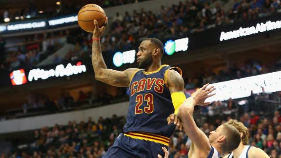 Video - LeBron Sets Cavs' Assist Record In Win