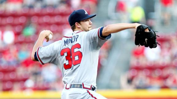 Video - Minor Starting Season On DL: Good News For Braves?