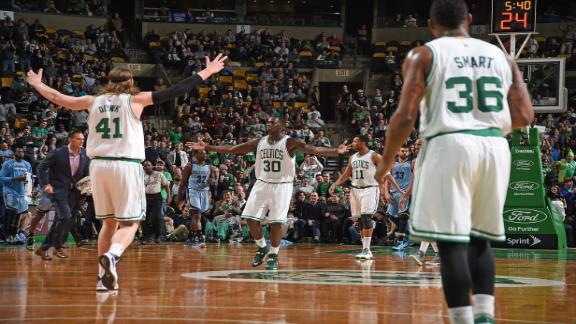 Video - Celtics Stun Grizzlies