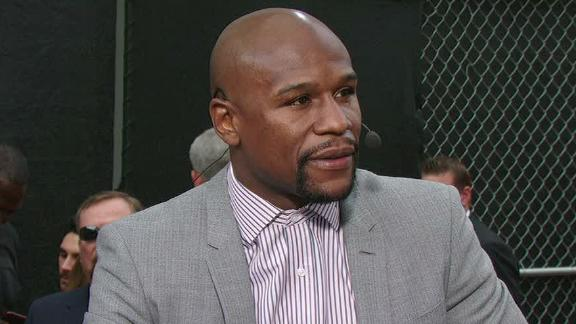 Mayweather Looks Ahead To Fighting Pacquiao