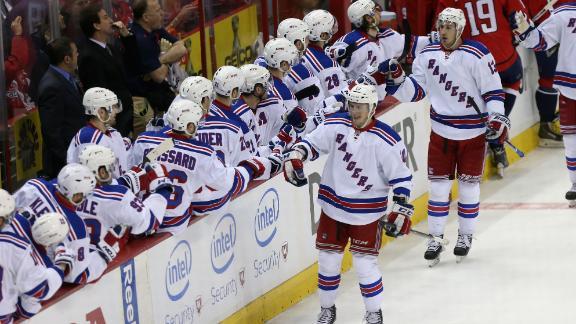 Video - Rangers Skate Past Capitals